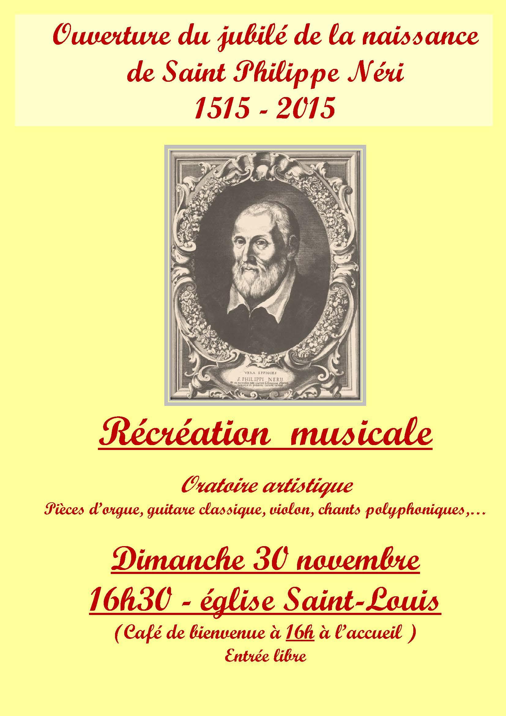 Oratoire musical 2014 2015