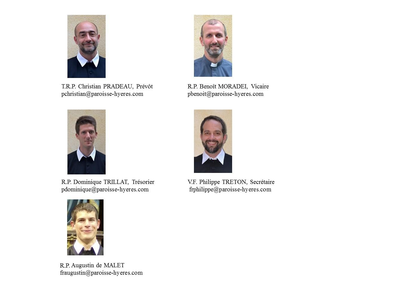 les membres actuels 2017